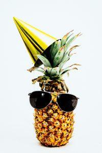Happy Birthday pineapple